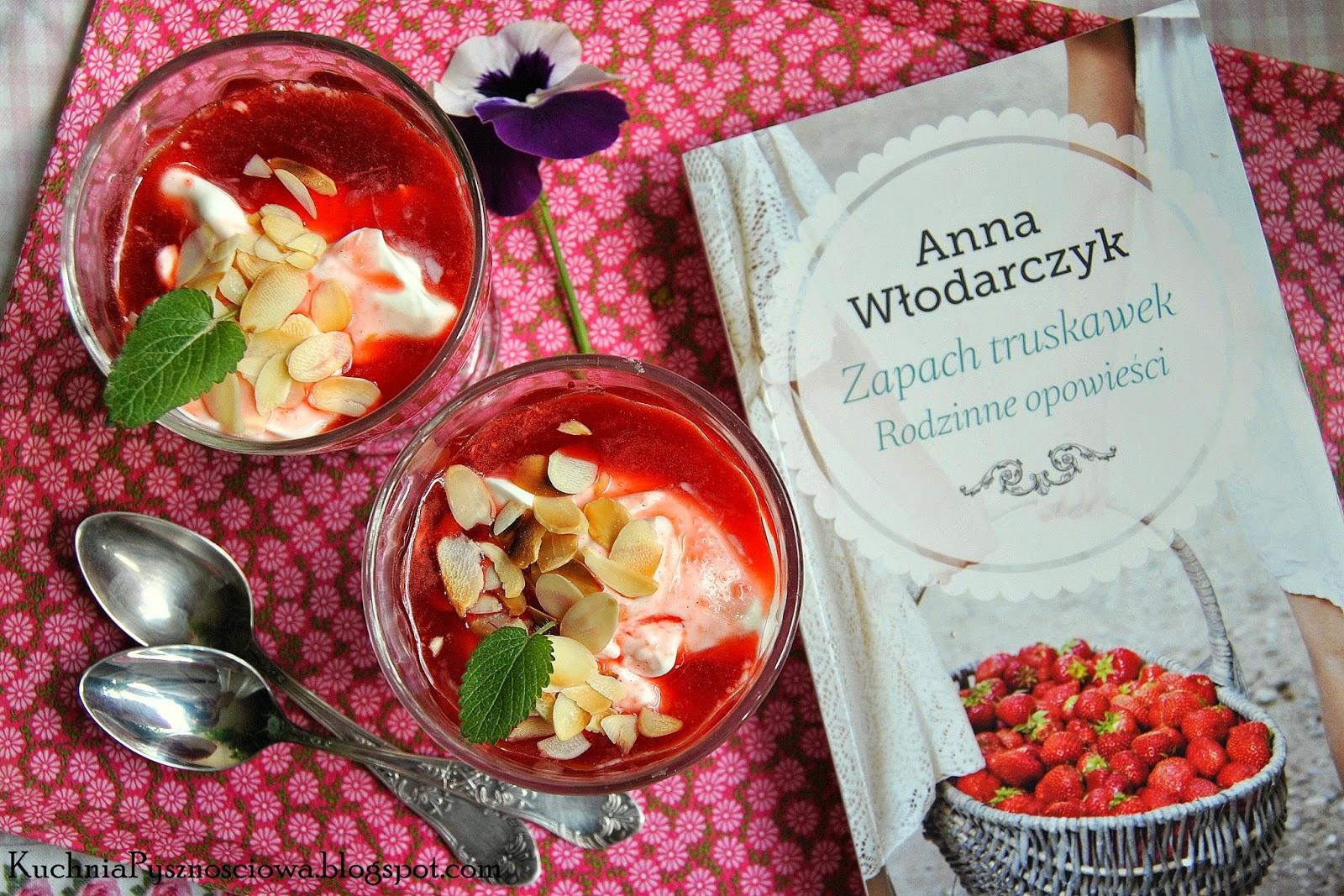 222. Oniro, jogurtowy deser z truskawkami i rabarbarem oraz kolejna smakowita lektura