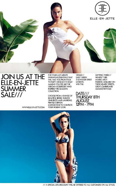 For all you London girls getting ready to hit the beach this August…
