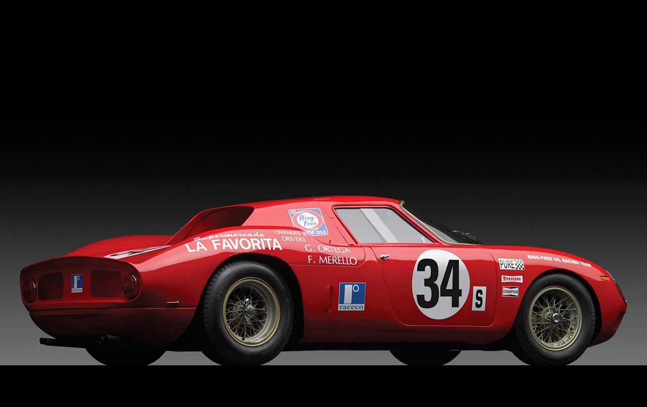 Automotiveblogz: 1964 Ferrari 250 LM chassis #6017 Photos
