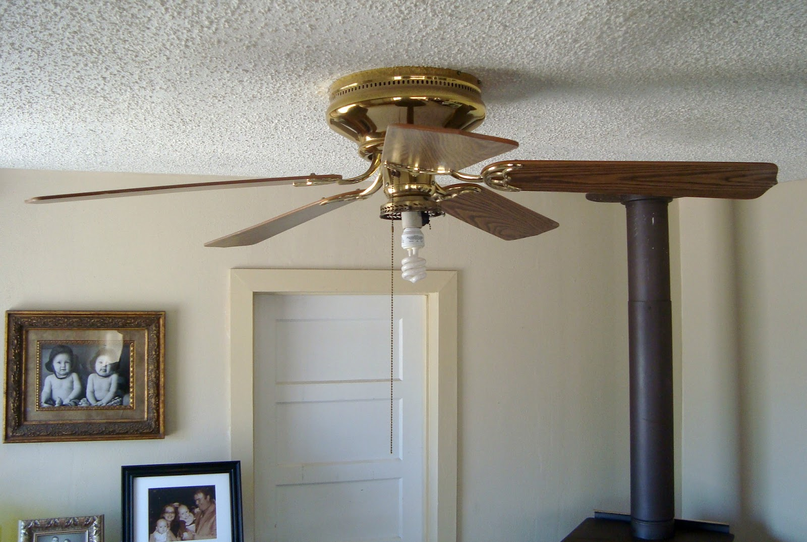 This Yellow House My Ceiling Fan Makeover