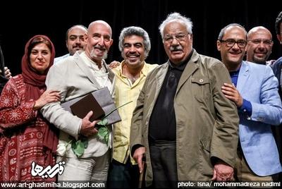 قدیمی ها: گزارش تصویری از حضور ناصر ملک مطیعی و نصرت الله وحدت در ...