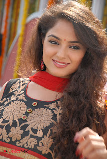 Asmita Sood Latest Pictures in Salwar Kameez at at Aa Aiduguru Movie Opening  0007