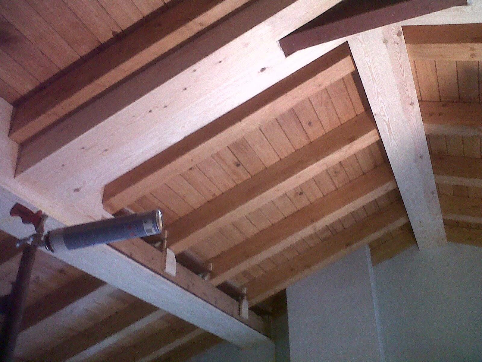 el forrado se ha realizado una vez terminado el forjado mixto de madera y hierro