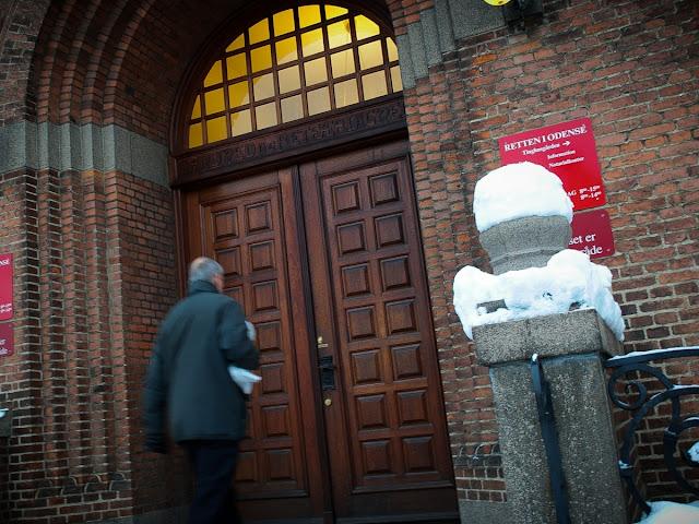 På vej i Retten i Odense