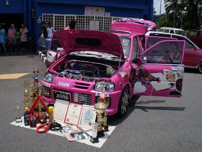 Kancil Mira autoshow car