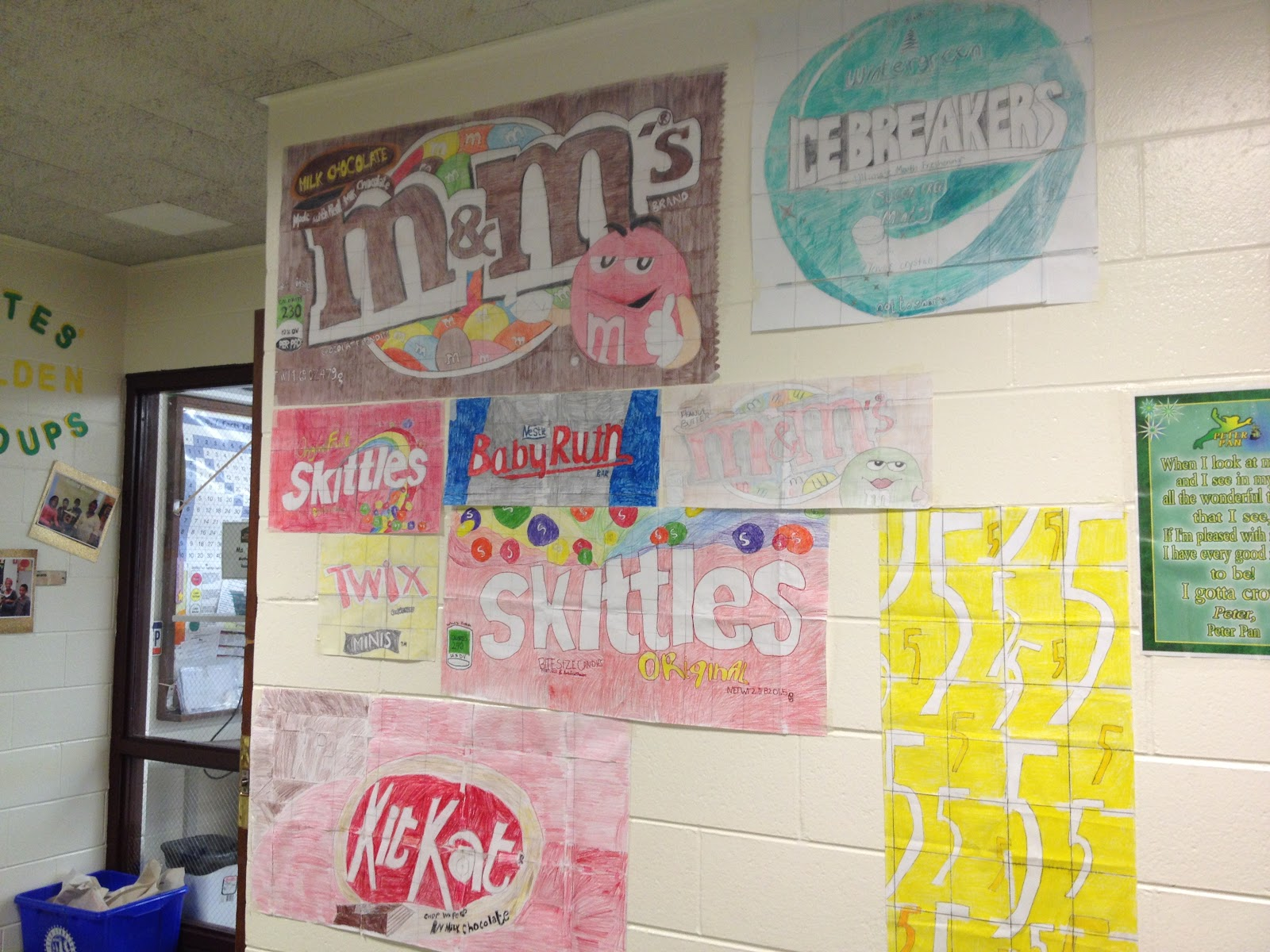 7th Grade Math Classroom Decorations : Fun math projects for th graders working the