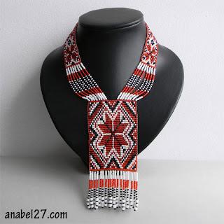 Купить гердан с этническим орнаментом
