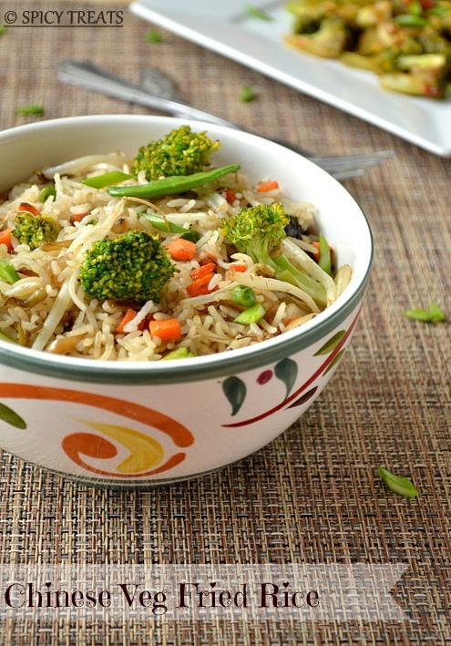 Broccoli-in-Garlic-Sauce Fried Rice