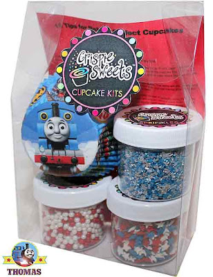 Thomas the Train cake toppers sprinkles kit Top 10 instructions for baking wonderful kid's cupcakes
