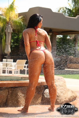 Brianna Jordan_red thong_3