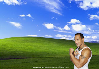 Desktop Wallpapers of Dwayne Johnson The Rock Shows Biceps Bull Tattoo Countryside Desktop wallpaper