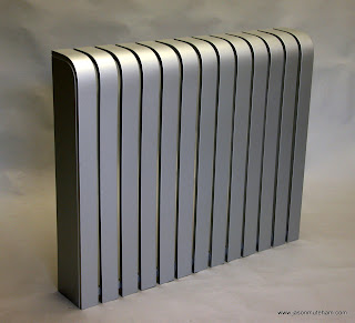 A Silver Radiator Cover