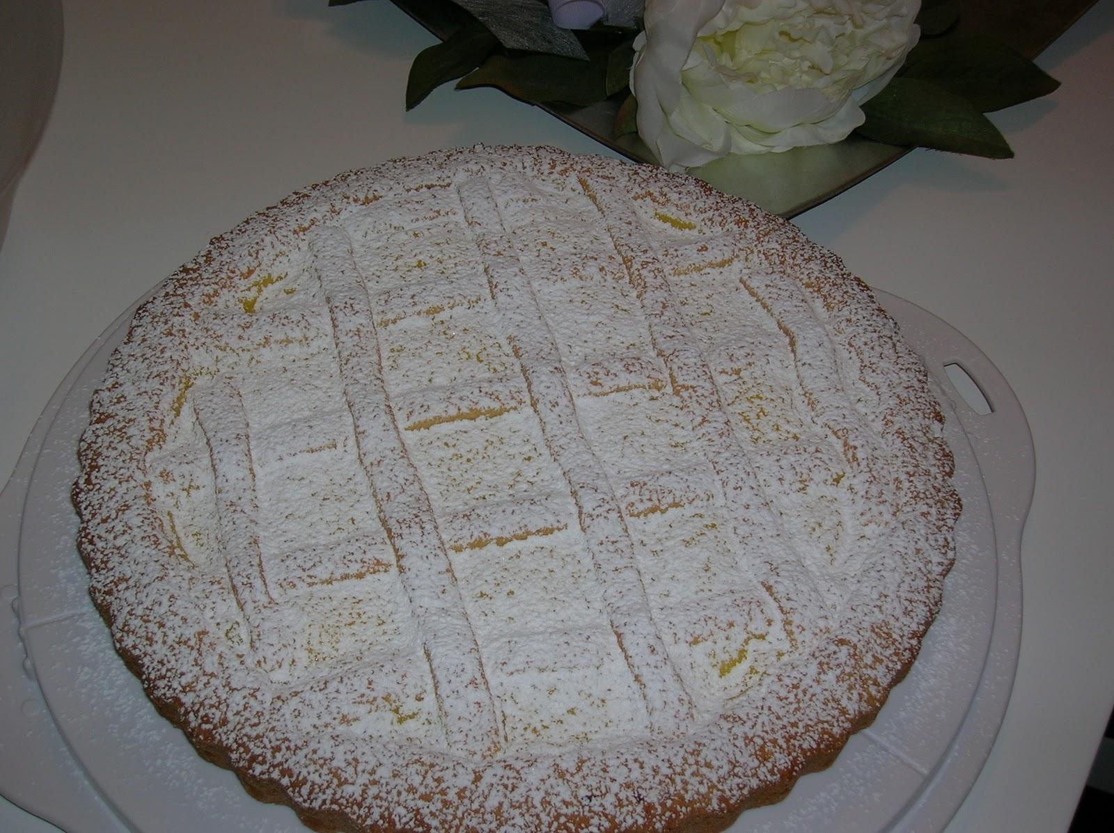 La cucina di alice crostata alla crema - La cucina di alice ...