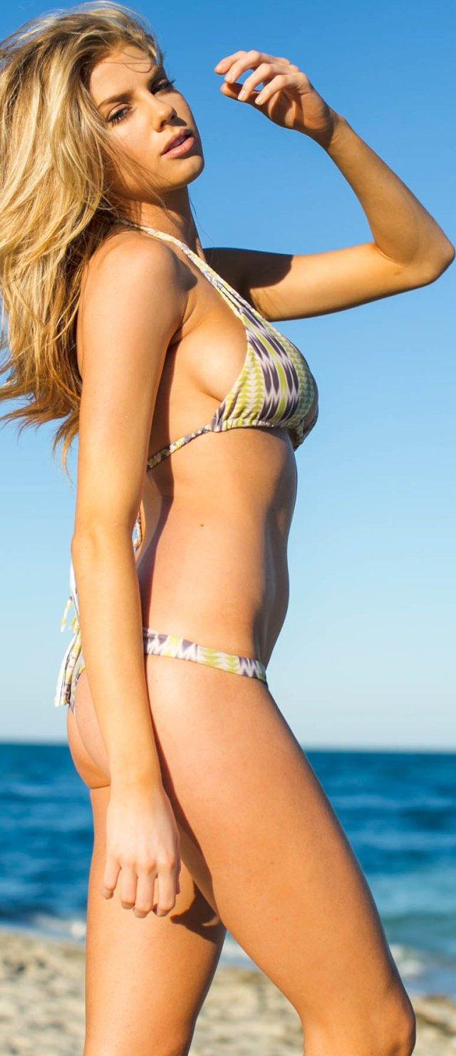 Charlotte Mckinney en bikini