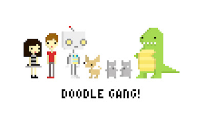 kat doodles pixel gang