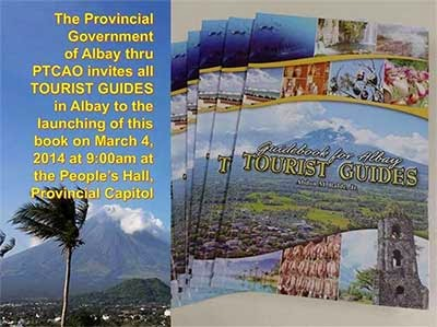 Guidebook for Albay Tourist Guides