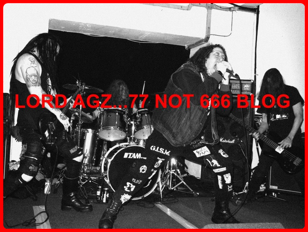 Lord Agz! Punk As Fuck!! 77 NOT 666