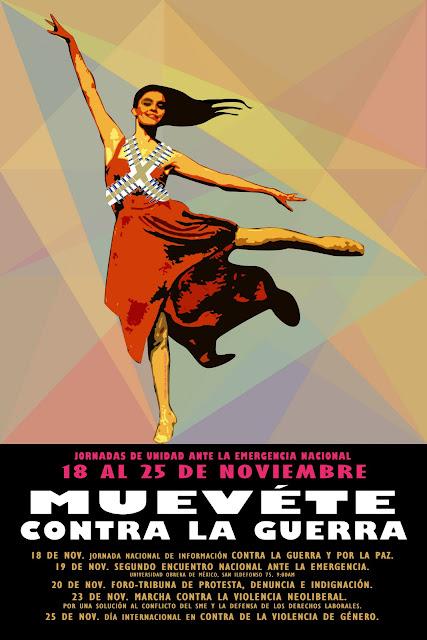 Cartel MUEVETE