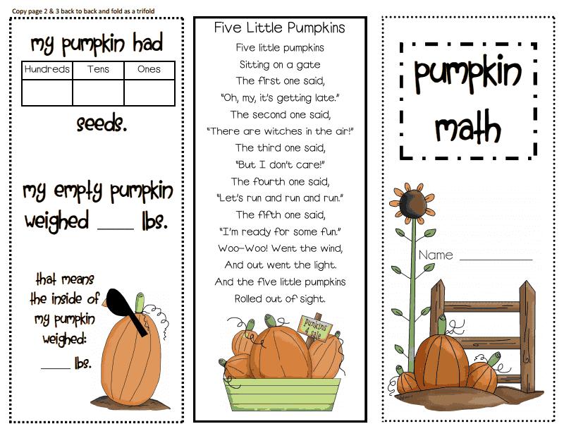 math worksheet : halloween poem for 2nd graders  mrs bonzer s poetry  : Pumpkin Math Worksheets Kindergarten