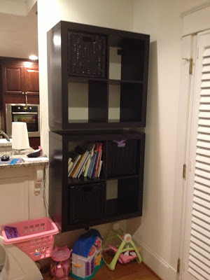hanging (floating) expedit shelves