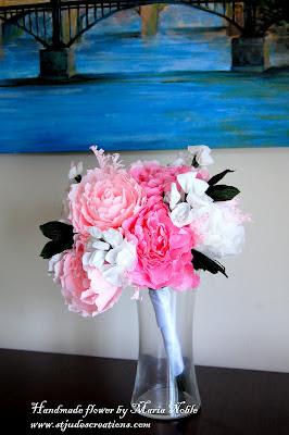 paper flower wedding first anniversary emily recreation