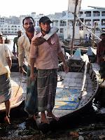 Boatmen - Sadarghat River Port, Dhaka