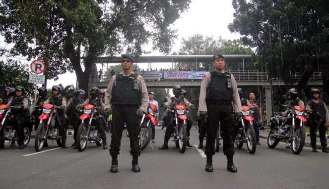 41 Lokasi di Jakarta Dijaga Ketat