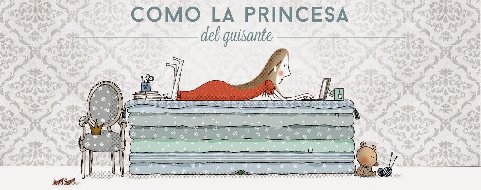 Como la princesa del guisante