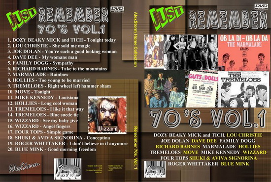 Remember 70s - Vol 1 ... 64 minutos