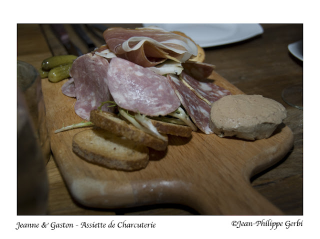 Image of Assiette de charcuterie at Jeanne et Gaston in NY, New York