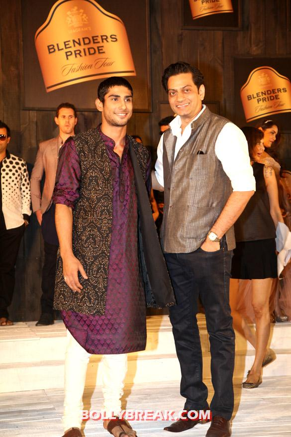 Prateik Babbar, Raghavendra Rathore - (8) - Seagram's Blenders Pride Fashion Tour 2012 Photos
