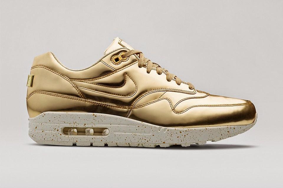 Nike Air Max 1 plata