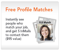 LinkedIn profile matches, LinkedIn job posting profile matches,