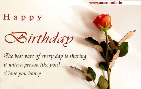 Happy Birthday Sms For Her Him