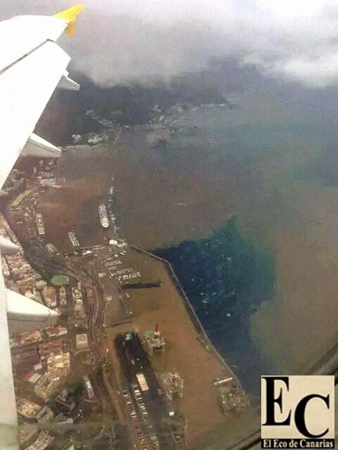 Fotos dia despues borrasca  Tenerife 19 octubre