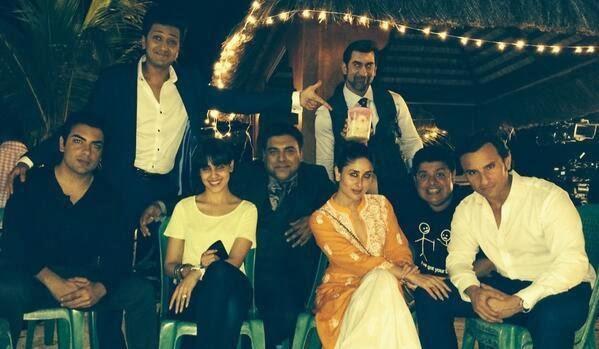 Kareena Kapoor & Genelia host a dinner party for Humshakals