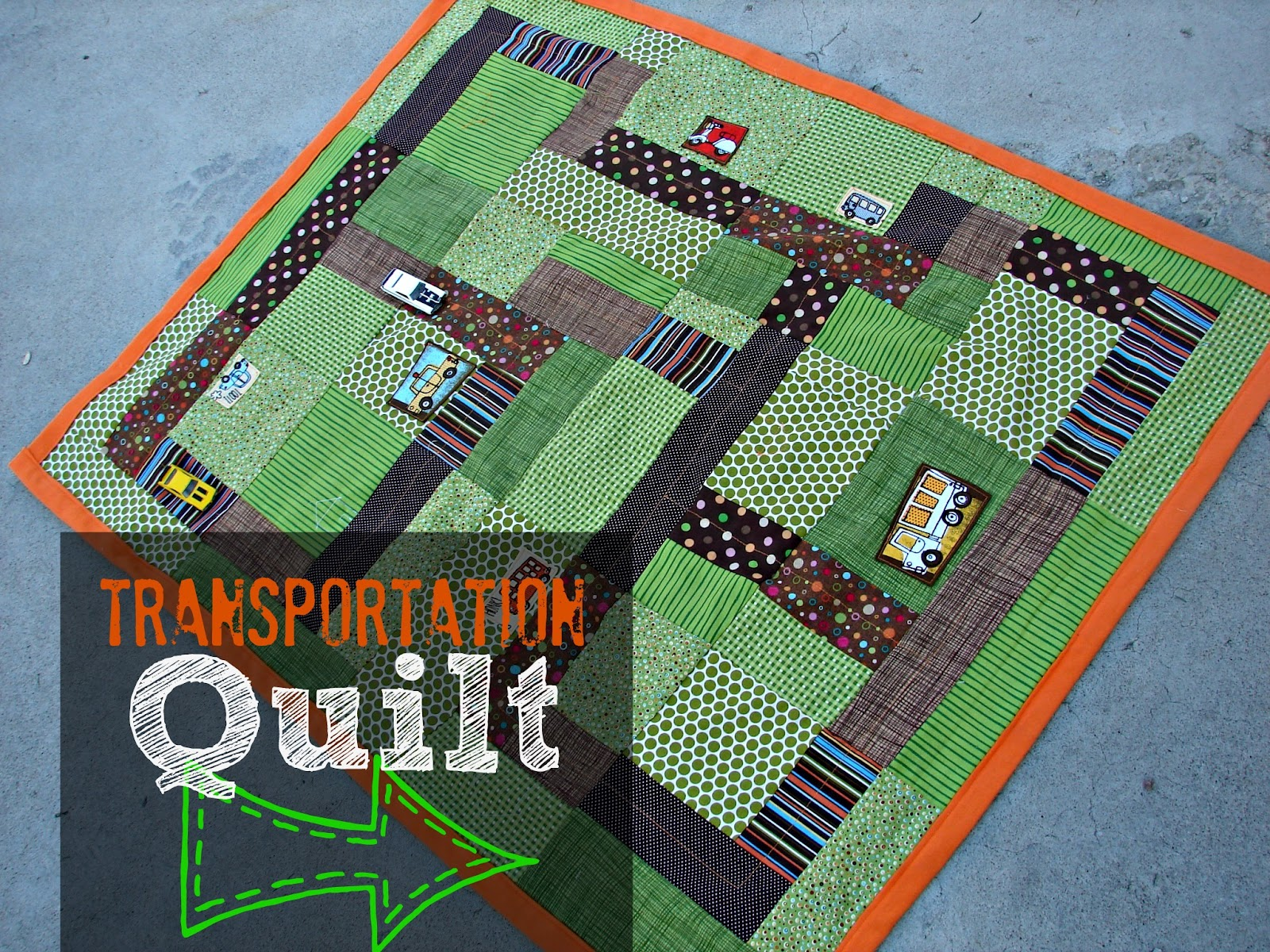 a quilt..for boys... - A girl and a glue gun