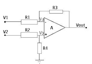 differential amplifier circuit