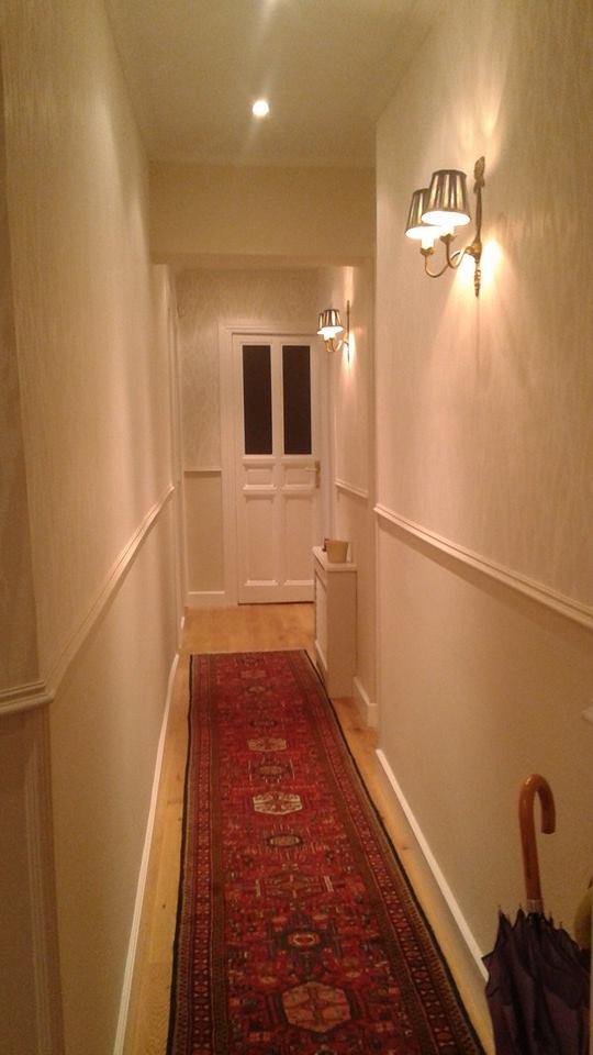 Marta decoycina como decorar pasillos largos for Papel para pasillos