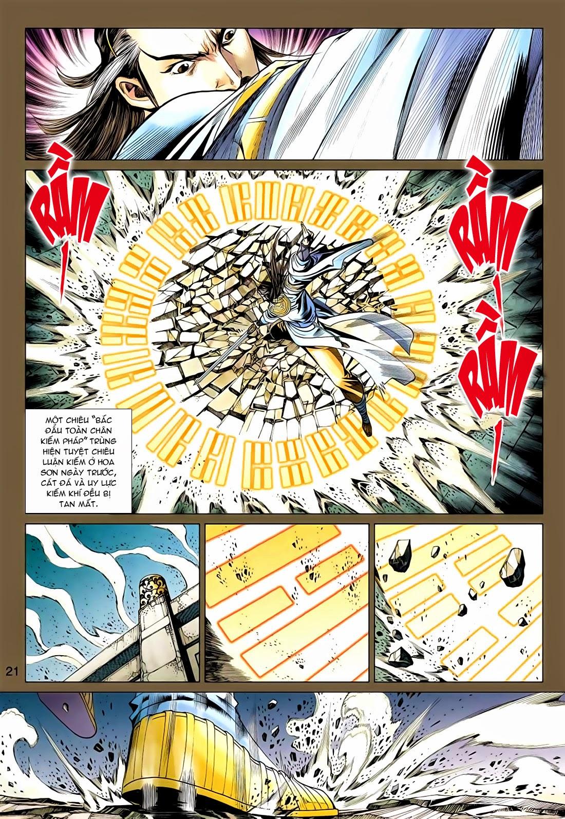 xem truyen moi - Anh Hùng Xạ Điêu - Chapter 76: Tiên Thiên vs Nhất Dương Chỉ