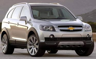 kredit chevrolet captiva