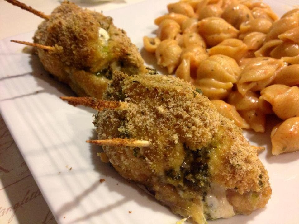 Pesto Cheesy Chicken Rolls Recipes — Dishmaps