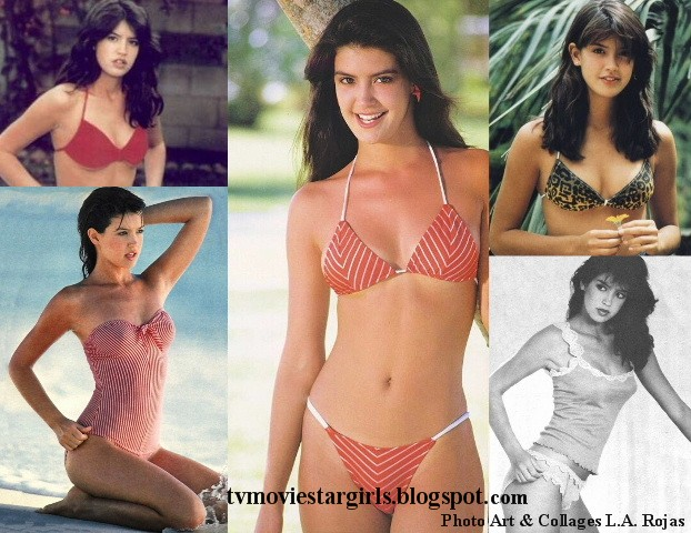 phoebe cates pin up poster girls t v movie star girls