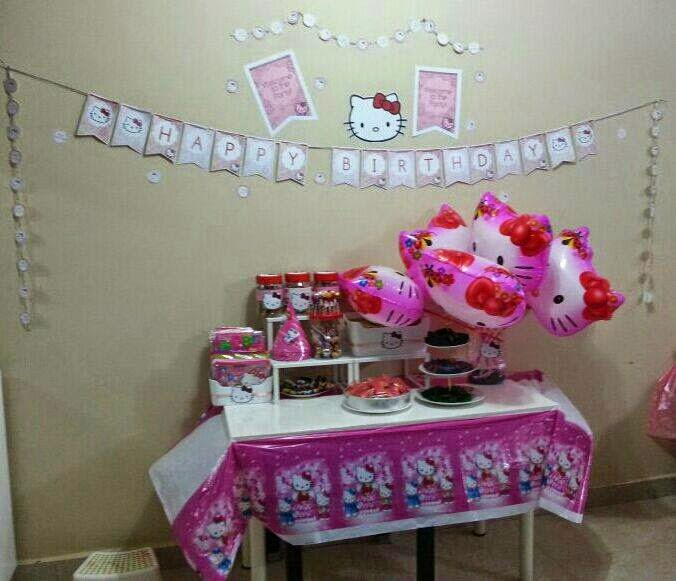 KEDAI ONLINE ALFILAILI BIRTHDAY TEMA HELLO KITTY