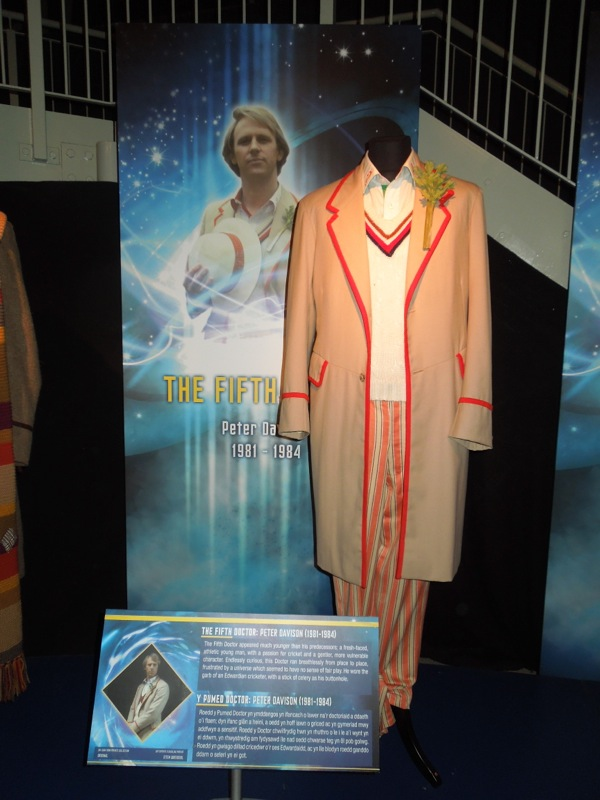 Original Peter Davison Fifth Doctor Who costume