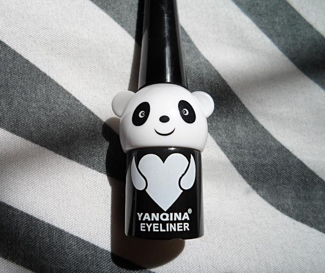 korean cosmetics review, cute panda