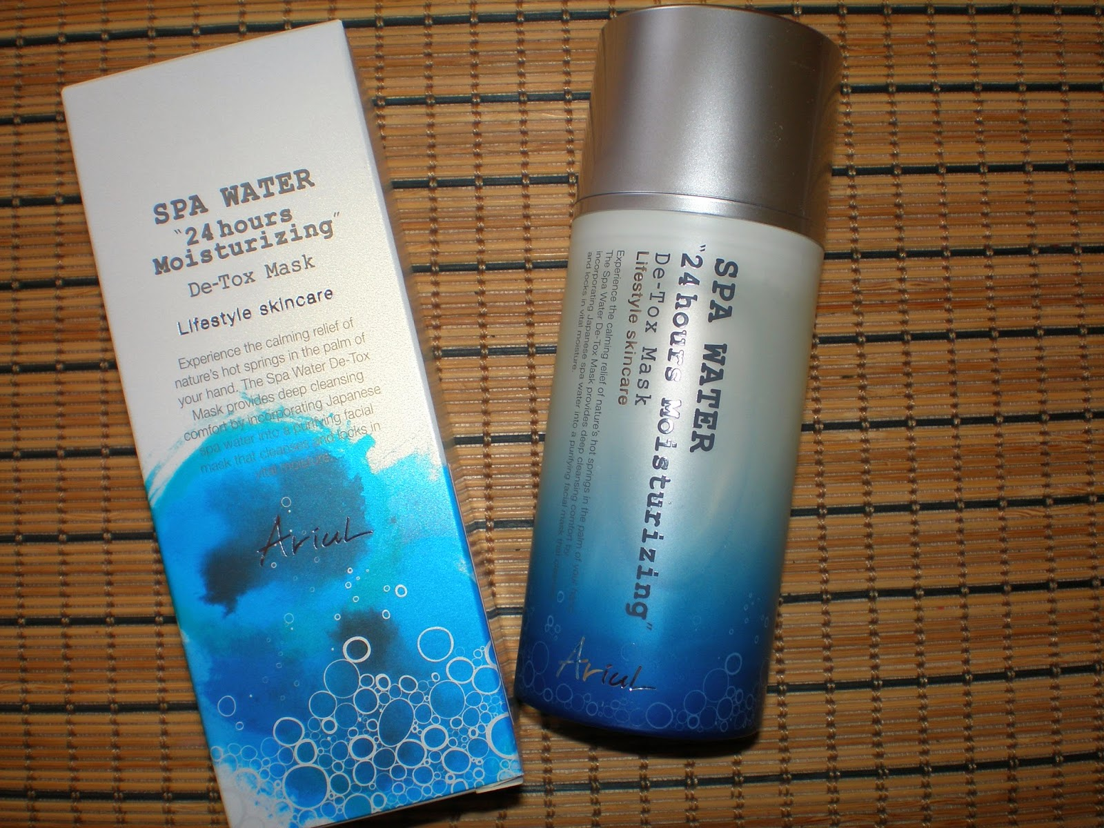 Ariul Spa Water 24Hours Moisturizing De-Tox Mask