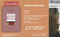 PRESENTACIÓN DEL LIBRO DERECHO Y SOCIEDAD
