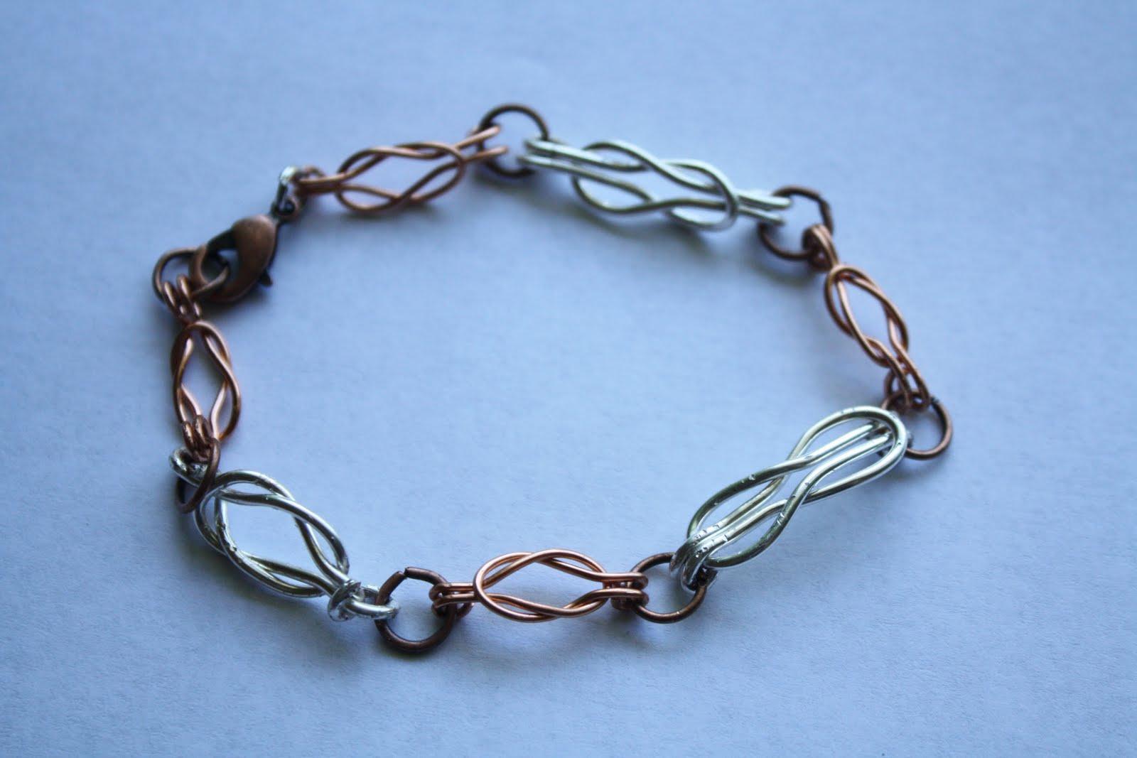 catching hummingbirds celtic knot wire bracelet. Black Bedroom Furniture Sets. Home Design Ideas