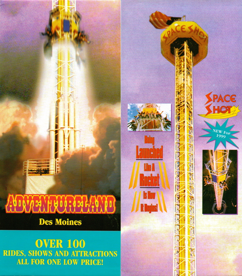 Newsplusnotes From The Vault Adventureland 1999 Brochure Map